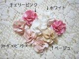 """【クリップピン】MINI""""サテン""""ハイミアのお花(お色チョイス)/新色追加"""